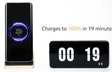 19 perc alatt feltöltött telefon, vezeték nélkül: új gyorstöltéssel állt elő a Xiaomi