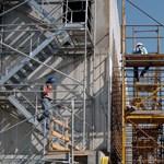 ÉVOSZ: siralmas az építőipar helyzete