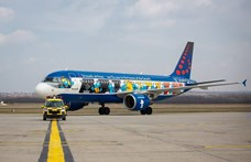 Ritkán látható repülő landolt Budapesten – fotók