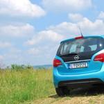 Opel Meriva teszt: ölelő karokkal