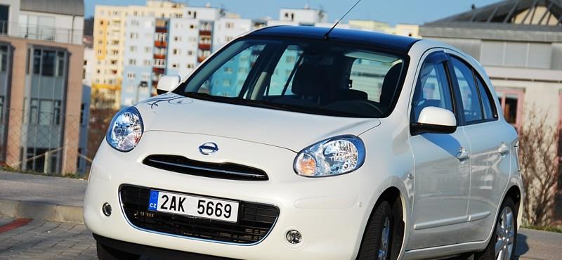 Nissan Micra teszt: békalány sminkben