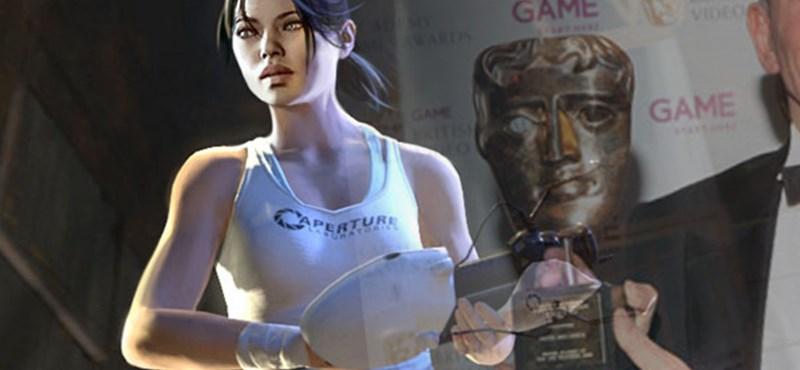 BAFTA - a Portal 2 nyerte a legtöbb díjat