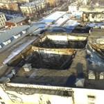 Engedély nélkül építették fel a vasárnap leégett orosz plázát