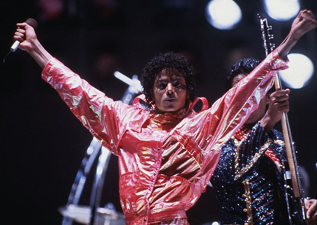 Michael Jackson az 1984-es Jacksons Victory turnén.