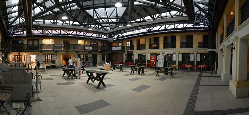 A Tiborcz-közeli Redwood viheti a Kolosy téri piacot