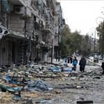 Állítólag most hallgatnak a fegyverek Aleppóban és indul a kitelepítés