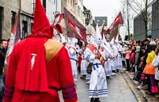 Antiszemita bábuk miatt repült a világörökségek listájáról egy híres belga karnevál