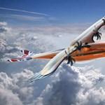 Ilyennel repülünk majd a jövőben? Madárszerű gépet villantott az Airbus