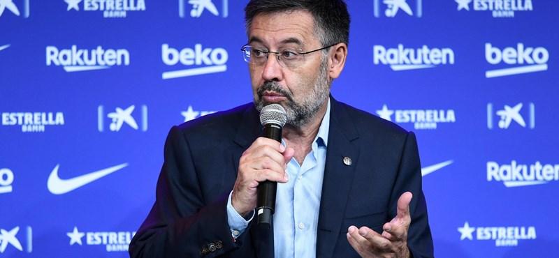 Lemondott a Barcelona elnöke