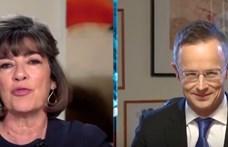 Szijjártó Péter nagyot vitatkozott a fake news-ozásról Christiane Amanpourral
