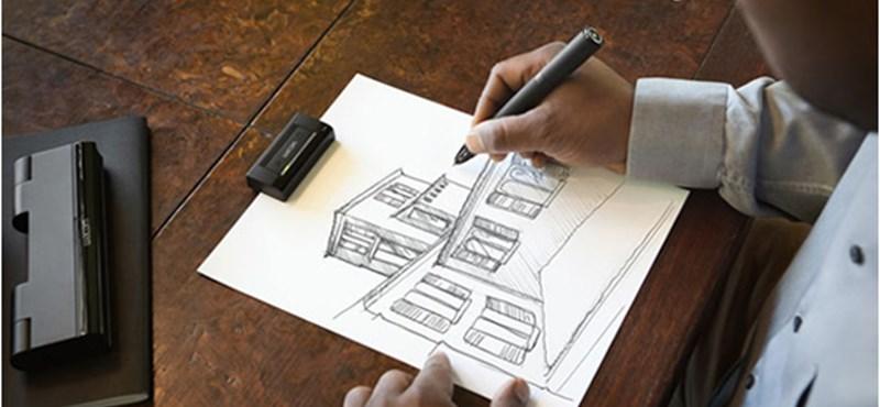 Digitális rajzolás papíron? Wacom Inkling