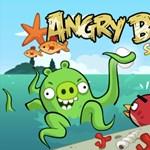 Megérkeztek az Angry Birds Seasons nyári pályái: merüljünk víz alá [videó]
