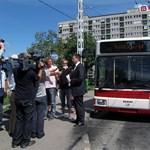 Fotók: már jár az új troli Budapesten