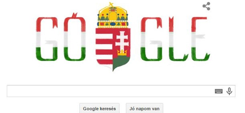 Megint logót kaptak március 15-re a Google-től a magyarok
