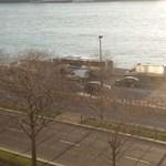 Az M3-ason és az M7-esen is rendőrségi konvojokat láttak a főváros irányába
