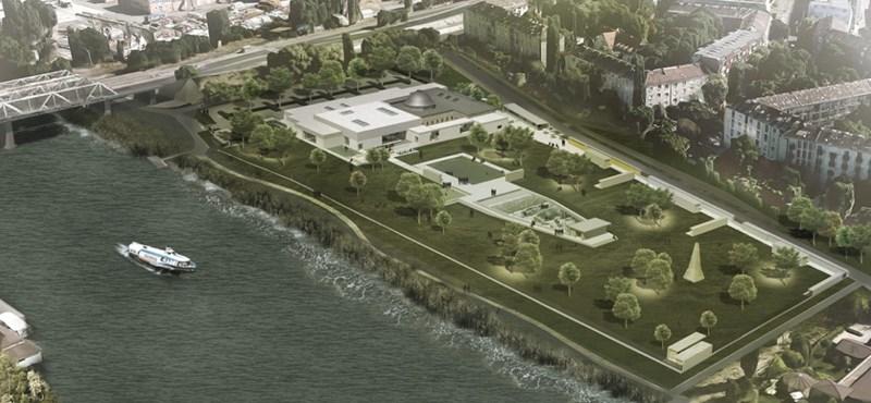 A Dunával is összekötik az újranyitó pesti fürdőt