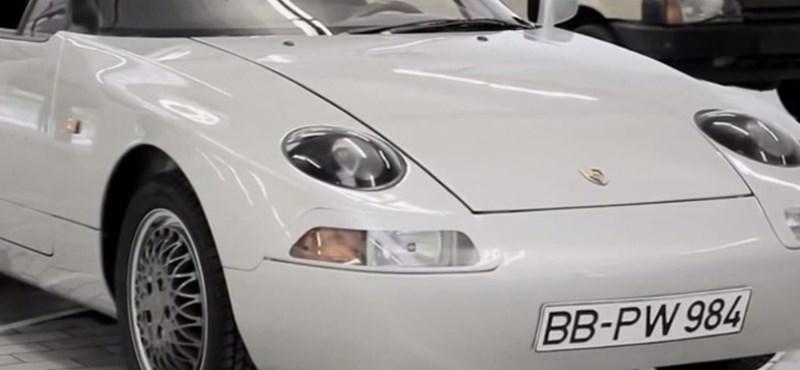 A Porsche, ami nagyon egyedi, mégsem emlékszik rá szinte senki