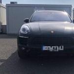 Lopott Porsche akadt fenn a határellenőrzésen
