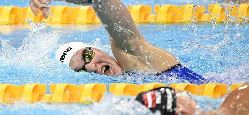 Késely lemaradt a dobogóról, Kenderesi két éve nem úszott akkorát, mint az elődöntőben