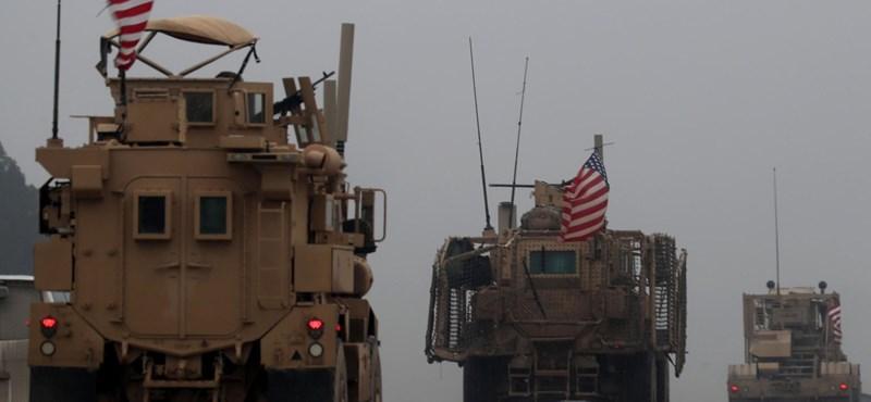 Megkezdte a kivonulást az amerikai haderő Szíriából
