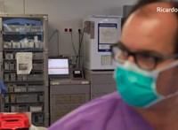Így gyógyítják a koronavírusos betegeket Spanyolország egyik legnagyobb kórházában – videó