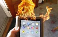 Beperelte az Apple-t a feleség, akinek meghalt a férje egy kigyulladt iPad okozta tűzben