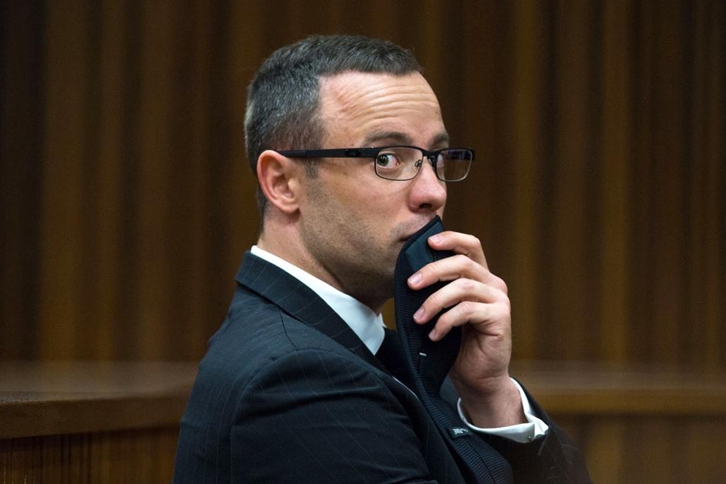 afp.14.05.13. - Pretoria, Dél-Afrika, Oscar Pistorius