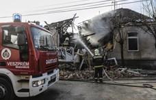 Súlyos sérültje is van a veszprémi gázrobbanásnak – videó
