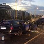 Elnézte a sofőr a jelzéseket, azért történt halálos baleset a BAH-csomópontnál