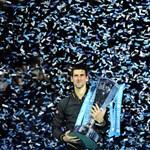 Djokovic keretbe foglalta az idei évet