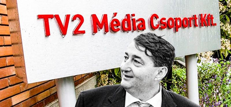 Húszmilliárdnyi állami reklámpénz landolhatott tavaly a TV2-nél