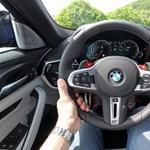 Hazánkba jött az új BMW M5, gyorsan kipróbáltuk a 600 lovas sportgépet