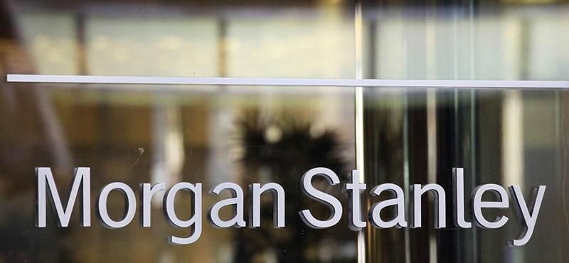 Morgan Stanley: van egy jó és egy rossz hírünk
