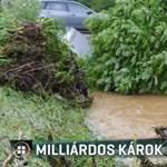 Hétvégi viharok: milliárdos lehet a kár