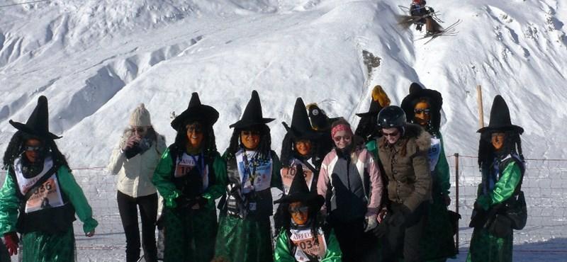 Szörnyek és boszorkányok várják a síelőket Wallisban