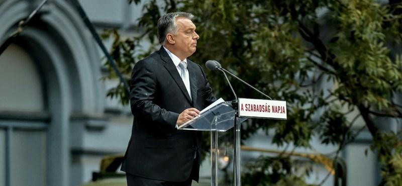 A Terror Házánál mond beszédet október 23-án Orbán Viktor