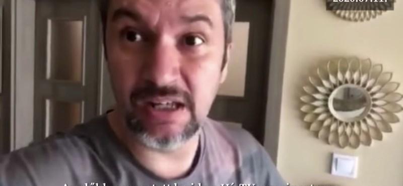 Hadházy Ákosnál csöngetett a HírTv