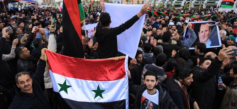 Nincs tűzszünet Libiában: Haftar tábornok aláírás nélkül távozott Moszkvából