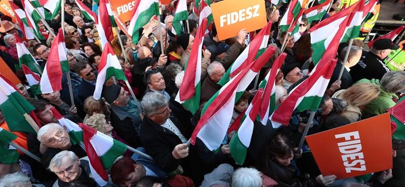 Felmérés: Egyre borúsabban látják a jövőt a Fidesz szavazói