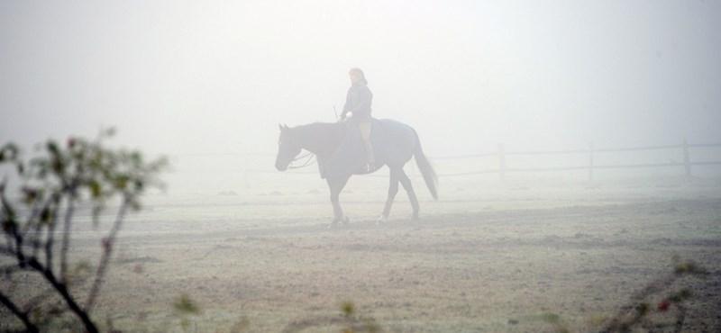 Tartós, sűrű ködre figyelmeztet a meteorológia