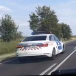 Szabálytalanul előző rendőrt vettek videóra