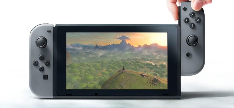 Itt a Nintendo új játékgépe, ami elég jónak tűnik