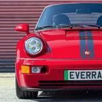 OT-rendszám helyett villanymotort kapott ez a 30 éves Porsche