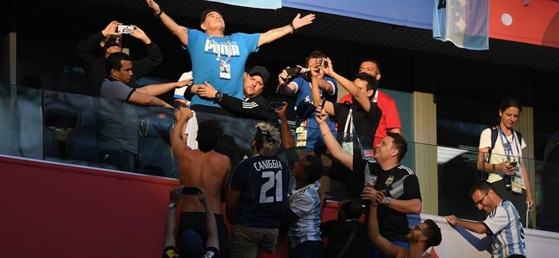Rohadt nehéz Diego Maradonának lenni