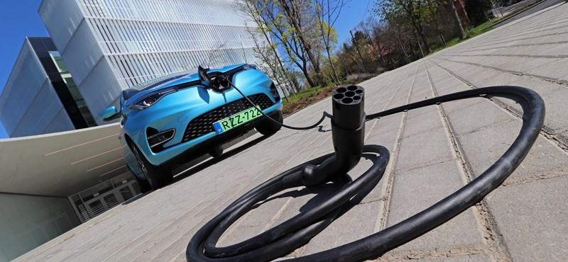 Előretörnek a villanyautók Európában