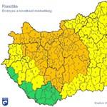 Már narancssárga riasztás van több helyen a szél miatt