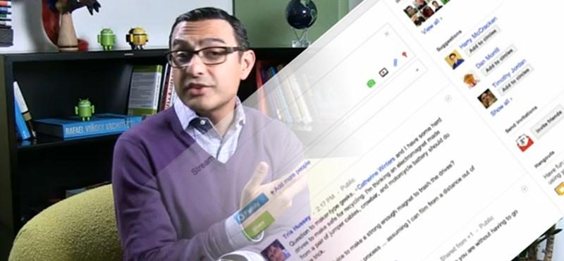 Realtime keresés a Google pluszban