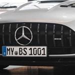 1111 lóerő a hátsó kerekeken, itt a legújabb Mercedes-AMG GT Black Series