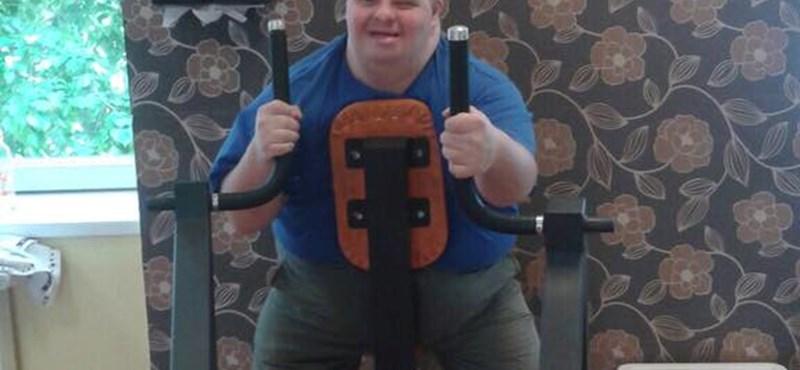 Már megbánta az edzőterem tulajdonosa, hogy beengedte a Down-szindrómás fiút