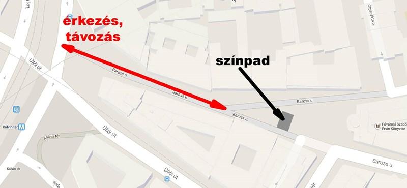 Új helyszíne van a letiltott tüntetésnek – térkép!